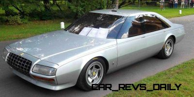Most Copied 4-Door Never Made - 1980 Ferrari Pinin Concept 26
