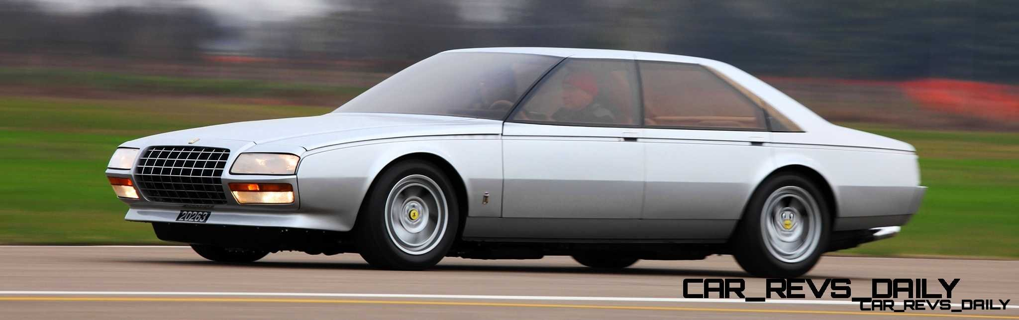 Most Copied 4-Door Never Made - 1980 Ferrari Pinin Concept 31