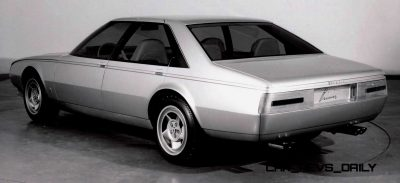 Most Copied 4-Door Never Made - 1980 Ferrari Pinin Concept 33