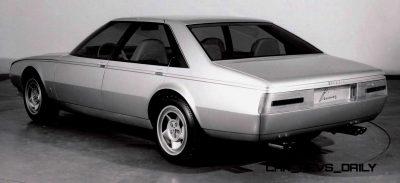 Most Copied 4-Door Never Made - 1980 Ferrari Pinin Concept 33