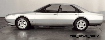 Most Copied 4-Door Never Made - 1980 Ferrari Pinin Concept 34