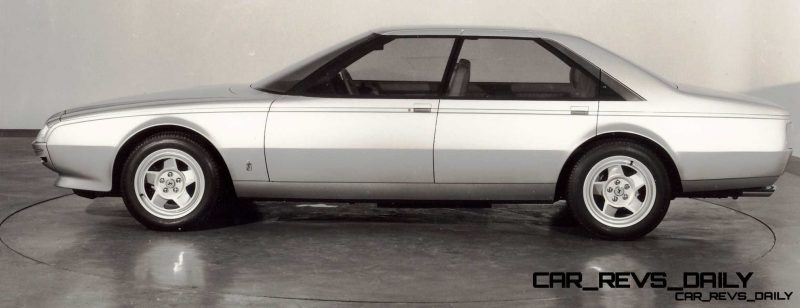 Most Copied 4-Door Never Made - 1980 Ferrari Pinin Concept 34