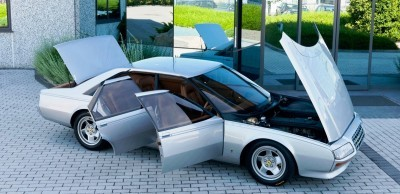 Most Copied 4-Door Never Made - 1980 Ferrari Pinin Concept 37