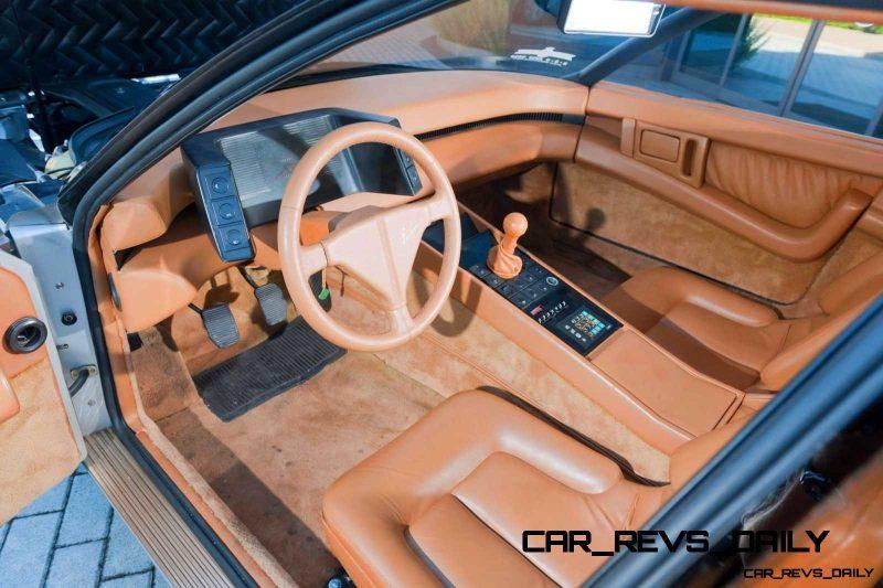 Most Copied 4-Door Never Made - 1980 Ferrari Pinin Concept 45