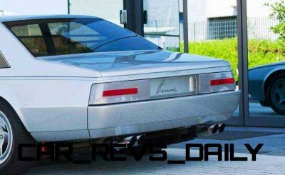Most Copied 4-Door Never Made - 1980 Ferrari Pinin Concept 6