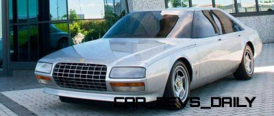 Most Copied 4-Door Never Made - 1980 Ferrari Pinin Concept 7