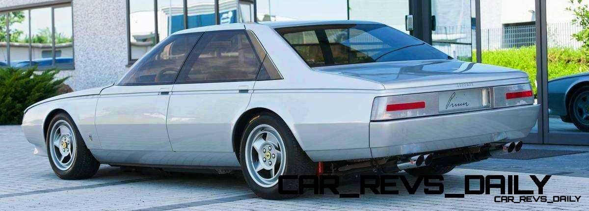 Most Copied 4-Door Never Made - 1980 Ferrari Pinin Concept 8