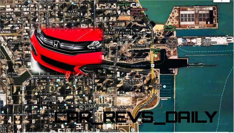 NEW 2014 CIVIC TAKES CHICAGO