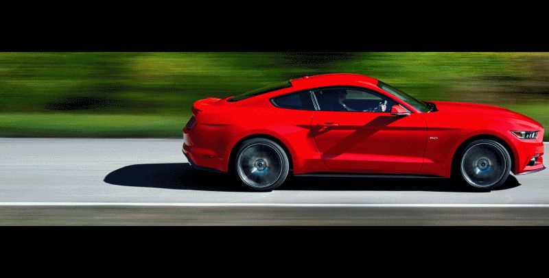 NEW 2015 FORD MUSTANG Animated GIF