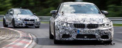 New BMW M3 Packing 430HP Tech Days Photos 4