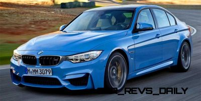 New BMW M3 Packing 430HP Through Stick or Dual-Clutch Boxes1