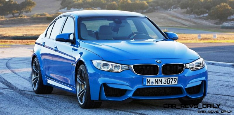 New BMW M3 Packing 430HP Through Stick or Dual-Clutch Boxes14