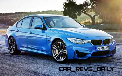 New BMW M3 Packing 430HP Through Stick or Dual-Clutch Boxes9
