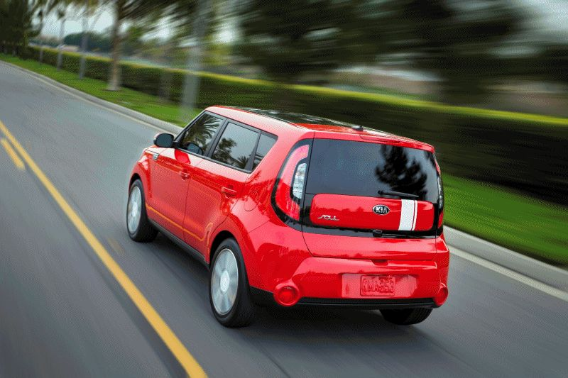 New Kia Soul Animated GIF