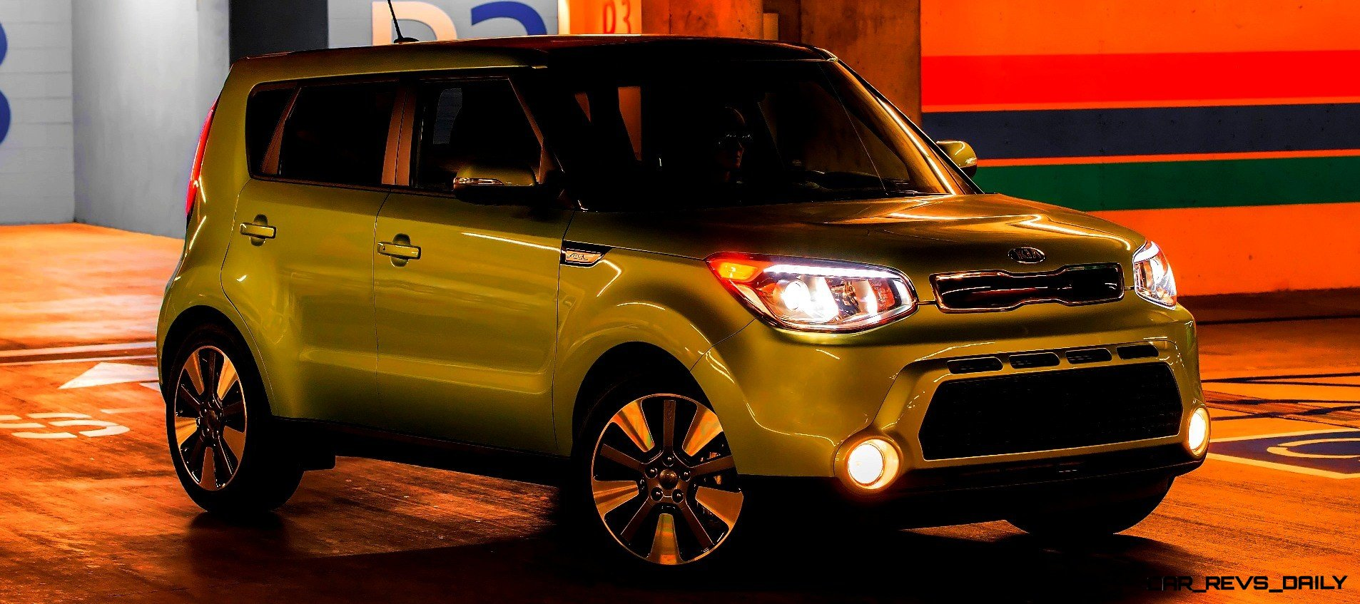 New Kia Soul LED Coolness Hookah Bar 25