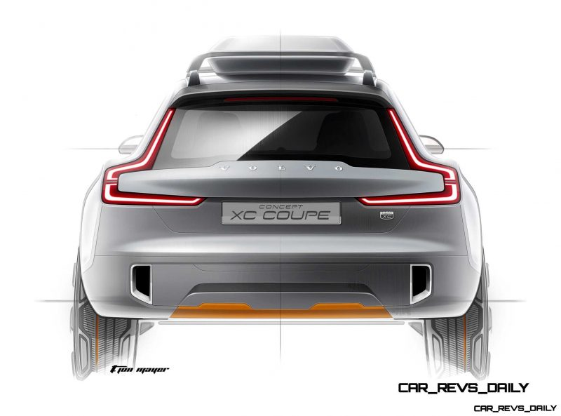 New Volvo XC Coupe Concept Previews Stunning 2015 XC905