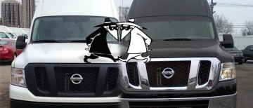 Nissan NV Spy vs Spy