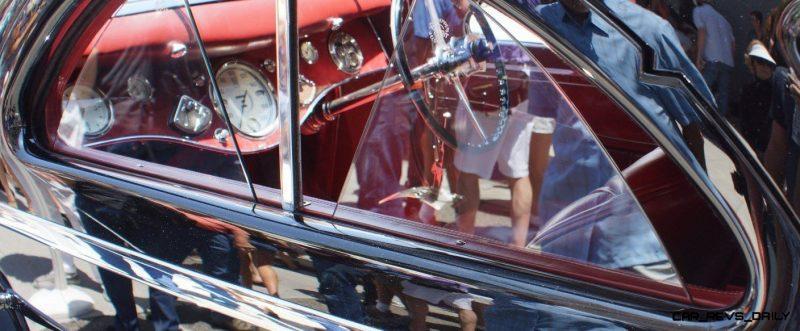 Peterson Auto Museum - 1925 Rolls-Royce Phantom I - 1934 Jonkheere Round Door Aero Coupe 11