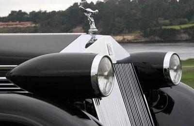 Peterson Auto Museum - 1925 Rolls-Royce Phantom I - 1934 Jonkheere Round Door Aero Coupe 14