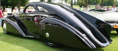 Peterson Auto Museum - 1925 Rolls-Royce Phantom I - 1934 Jonkheere Round Door Aero Coupe 18
