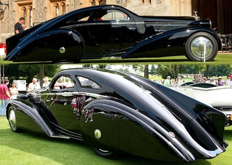Peterson-Auto-Museum---1925-Rolls-Royce-Phantom-I---1934-Jonkheere-Round-Door-Aero-Coupe-18888888