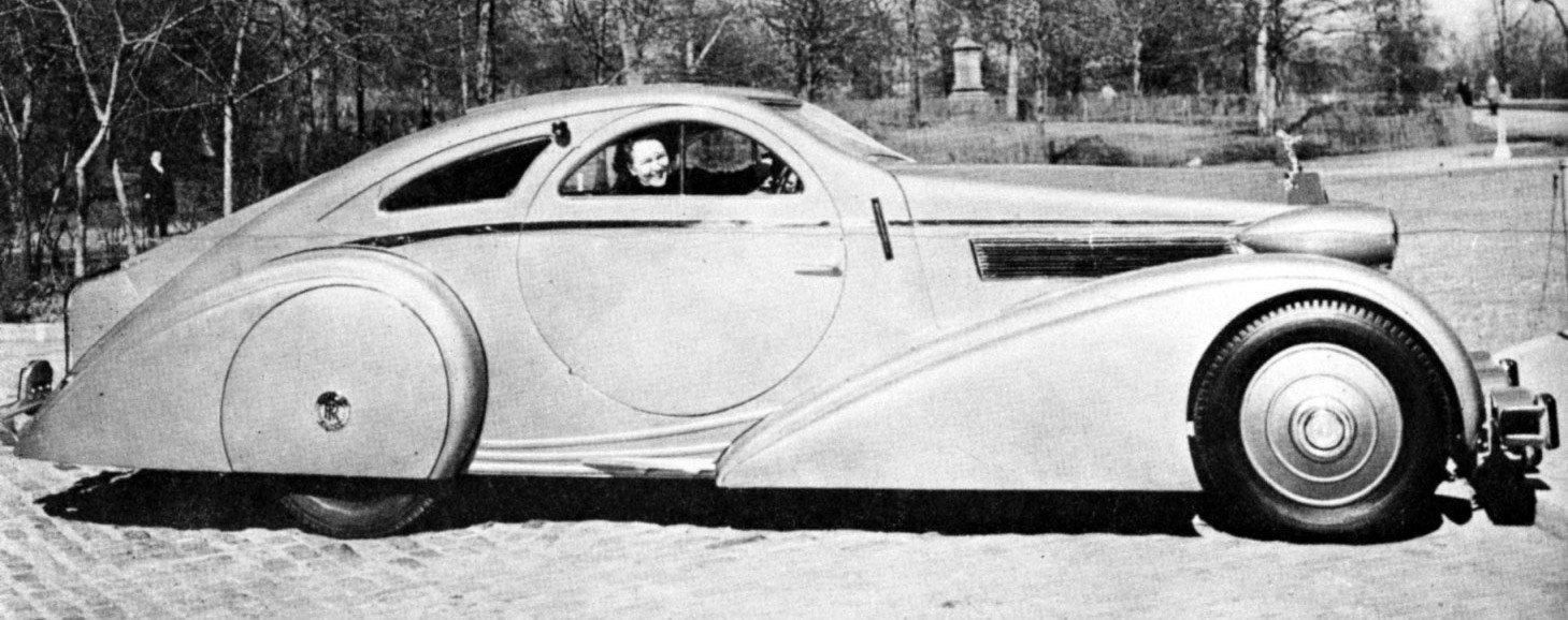 Peterson Auto Museum - 1925 Rolls-Royce Phantom I - 1934 Jonkheere Round Door Aero Coupe 2