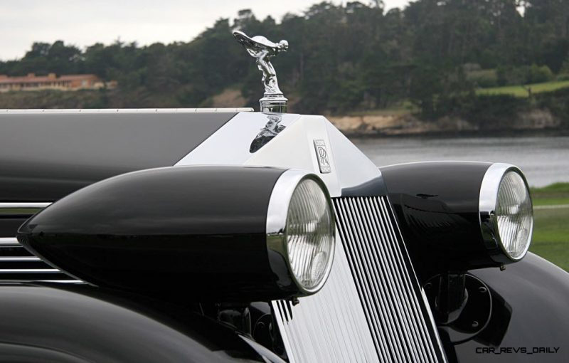 Peterson Auto Museum - 1925 Rolls-Royce Phantom I - 1934 Jonkheere Round Door Aero Coupe 24