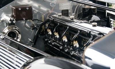 Peterson Auto Museum - 1925 Rolls-Royce Phantom I - 1934 Jonkheere Round Door Aero Coupe 28