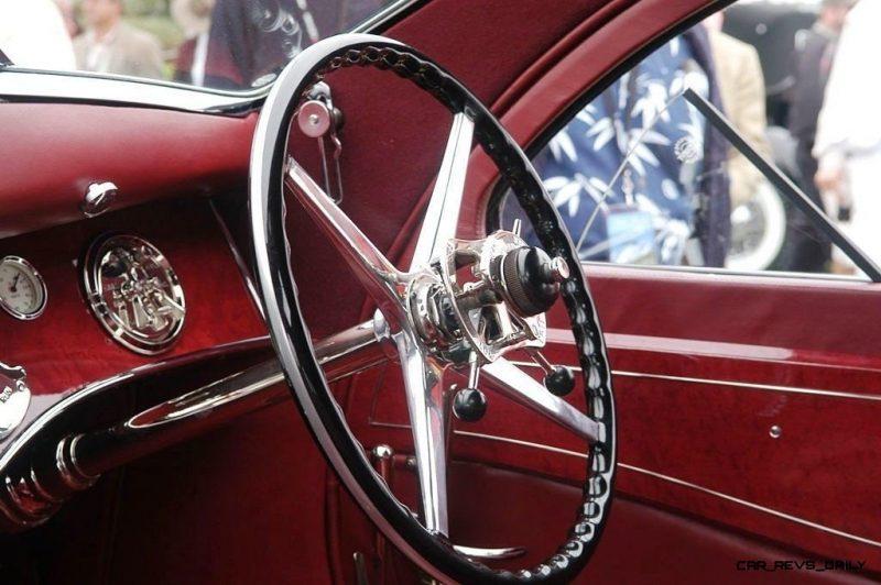 Peterson Auto Museum - 1925 Rolls-Royce Phantom I - 1934 Jonkheere Round Door Aero Coupe 30