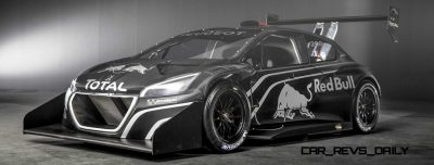 Peugeot 208 T16 and 205 T16 Group B 12