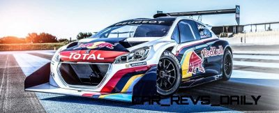 Peugeot 208 T16 and 205 T16 Group B 2