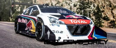 Peugeot 208 T16 and 205 T16 Group B 22