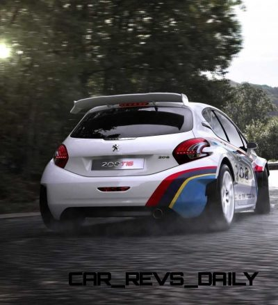 Peugeot 208 T16 and 205 T16 Group B 4