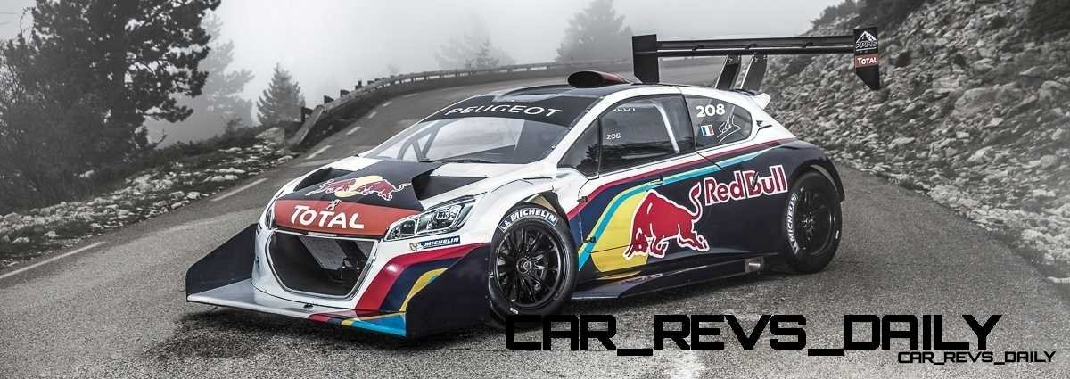Peugeot 208 T16 and 205 T16 Group B 42