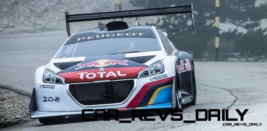 Peugeot 208 T16 and 205 T16 Group B 43