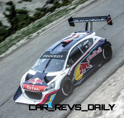 Peugeot 208 T16 and 205 T16 Group B 47