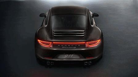Porsche Carrera 4 and C4S Animated GIF
