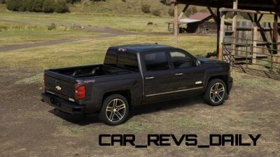 Silverado High Country Visualizer - Colors and 22-inch Wheels Galore14