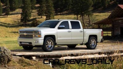 Silverado High Country Visualizer - Colors and 22-inch Wheels Galore15