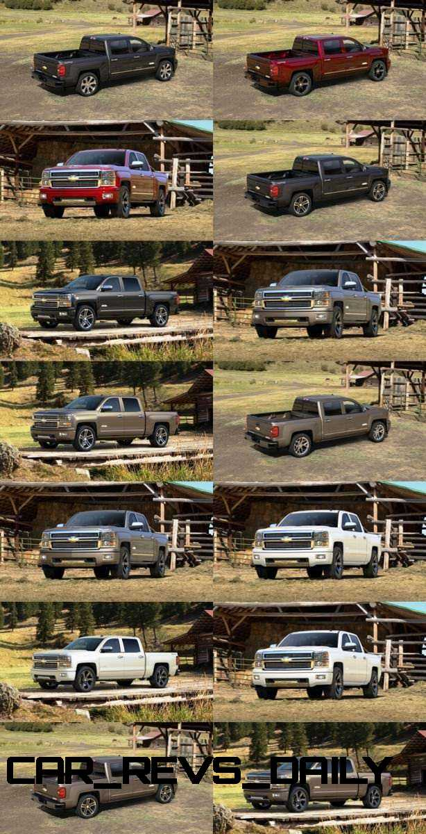 Silverado High Country Visualizer - Colors and 22-inch Wheels Galore21-tile