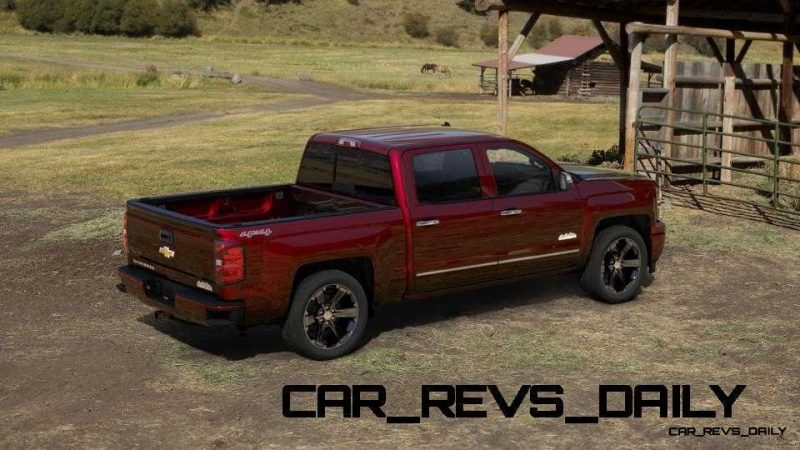 Silverado High Country Visualizer - Colors and 22-inch Wheels Galore24