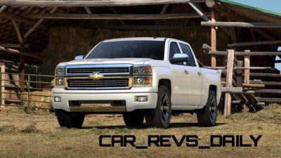 Silverado High Country Visualizer - Colors and 22-inch Wheels Galore25