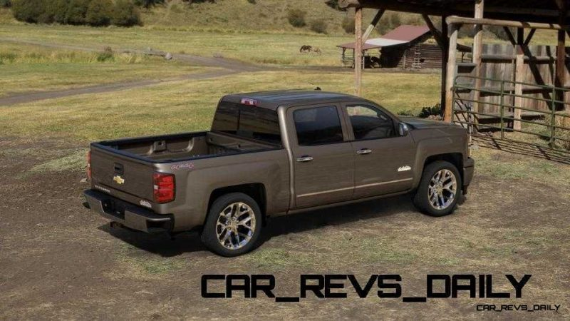 Silverado High Country Visualizer - Colors and 22-inch Wheels Galore30
