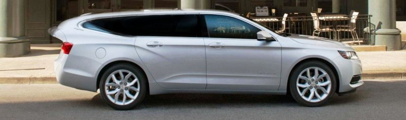 Speculative Renderings of potential Chevy Impala Station Wagon 3