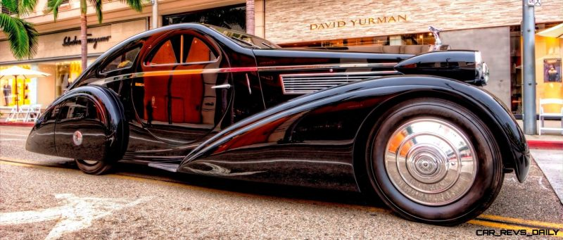 Steve Sexton Photographs the 1925-34 Rolls-Royce Phantom I Round Door Aero Coupe 1