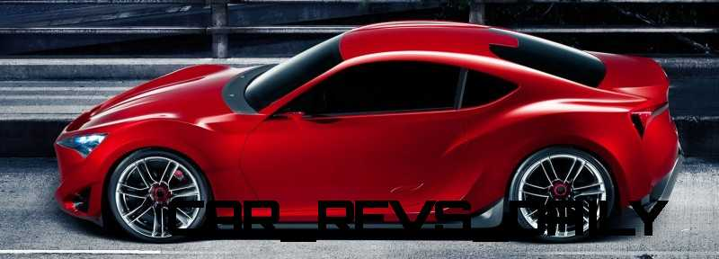 Toyota Supra Past and Future 2015 Supra Renderings 10