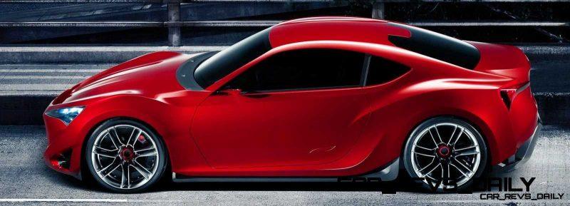 Toyota Supra Past and Future 2015 Supra Renderings 10