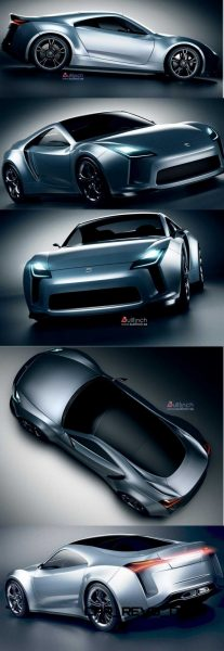 Toyota Supra Past and Future 2015 Supra Renderings 28