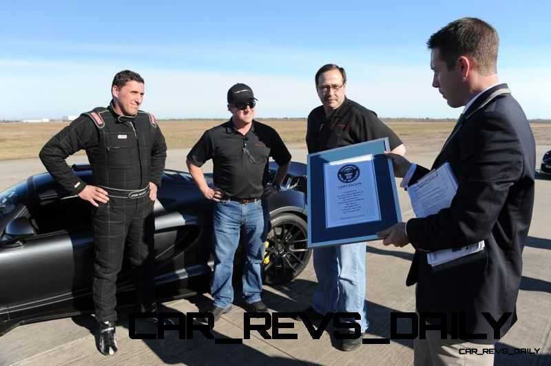 Venom GT Guinness World Record Fastest Car 25