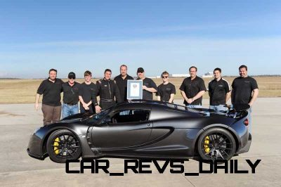 Venom GT Guinness World Record Fastest Car 29